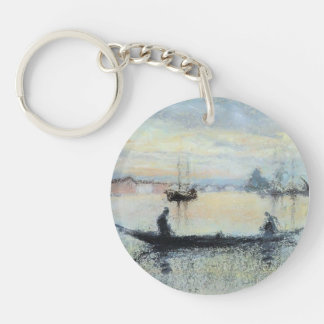 James Whistler: Note in Flesh Colour: The Guidecca Acrylic Key Chain