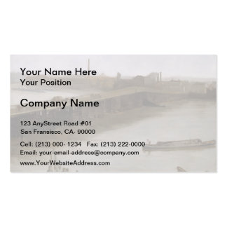 James Whistler- Old Battersea Bridge Double-Sided Standard Business Cards (Pack Of 100)