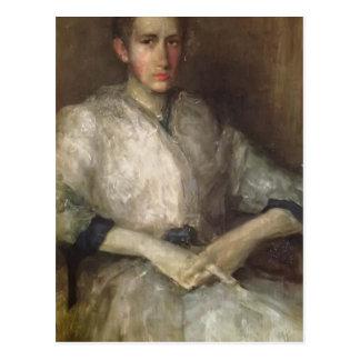 James Whistler- Portrait of Ellen Sturgis Hooper Post Card