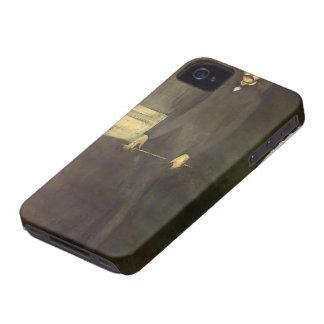 James Whistler- Portrait of George W. Vanderbilt iPhone 4 Cases