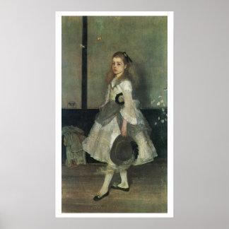 James Whistler - Portrait of Miss Alexander Poster