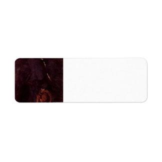 James Whistler-Portrait of Miss Rosa Corder Label