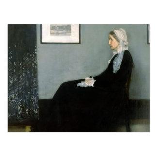 James Whistler-Portrait of the Artist's Mother Postcard