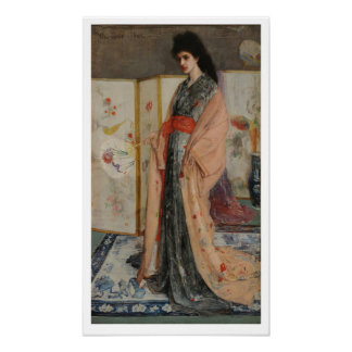 James Whistler-Princess from the Land of Porcelain Poster