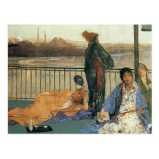 James Whistler-The Balcony Postcard