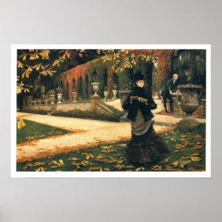 James Whistler - The Letter Poster