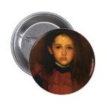 James Whistler- The Little Rose of Lyme Regis Pinback Button