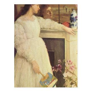 James Whistler-The Little White Girl Postcard