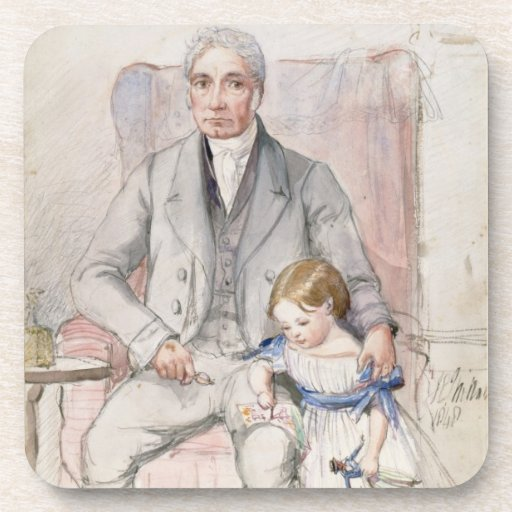 James Wyatt con su Grandaughter Maria, la más viej Posavaso