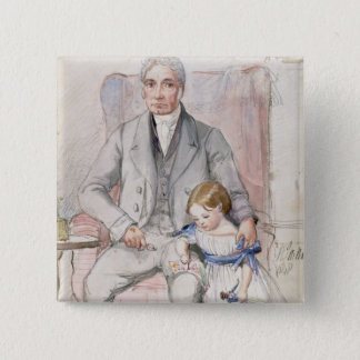 James Wyatt with his Grandaughter Mary, Oldest Chi Button