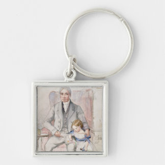 James Wyatt with his Grandaughter Mary, Oldest Chi Keychain