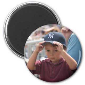 James Yankees 2 Inch Round Magnet