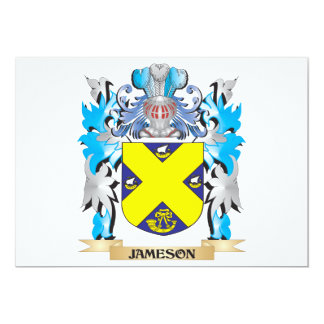 Jameson Coat of Arms - Family Crest 5x7 Paper Invitation Card