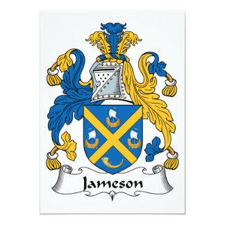 Jameson Family Crest 5x7 Paper Invitation Card