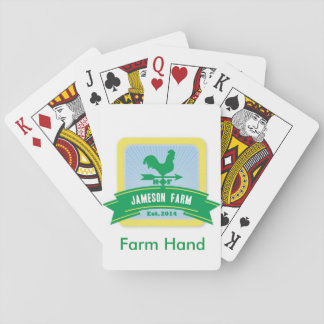 Jameson Farm Playing Cards