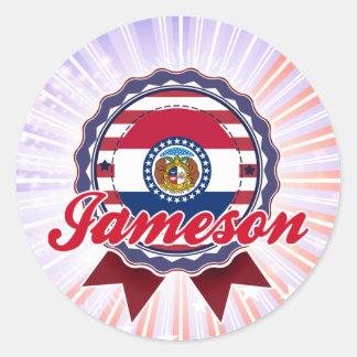 Jameson, MES Pegatina Redonda