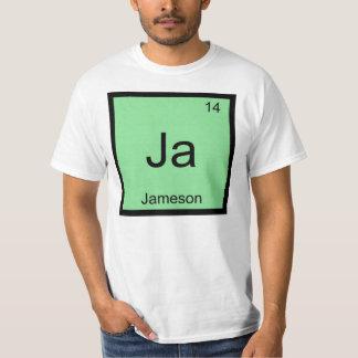 Jameson  Name Chemistry Element Periodic Table Shirt