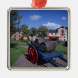 Jamesons Whisky Heritage Centre, Midleton, Square Metal Christmas Ornament