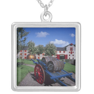 Jamesons Whisky Heritage Centre, Midleton, Silver Plated Necklace