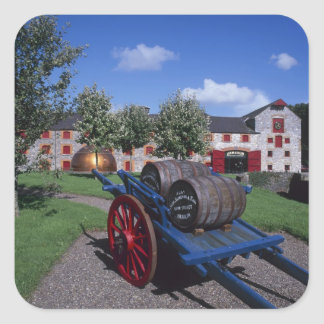 Jamesons Whisky Heritage Centre, Midleton, Square Stickers