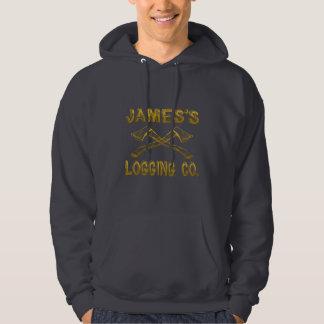 James's Logging Company Hooded Sweatshirt