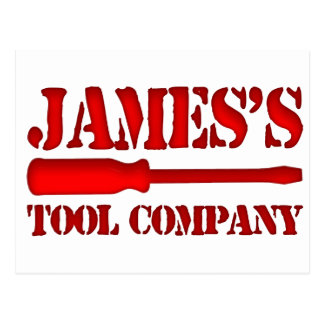 James's Tool Company Postcard