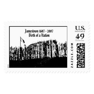 Jamestown 1607 - 2007, Birth of a Nation Postage Stamps