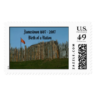 Jamestown 1607 - 2007Birth of a Nation Postage