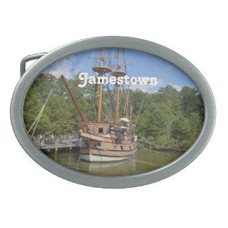 Jamestown Oval Belt Buckle