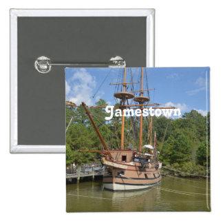 Jamestown Pinback Buttons