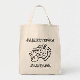 Jamestown Jaguars Reusable Grocery Bag
