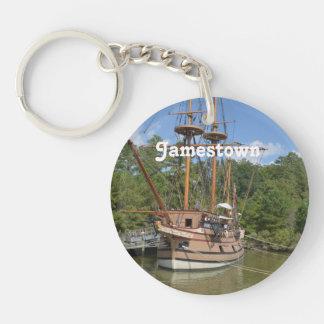 Jamestown Acrylic Key Chains