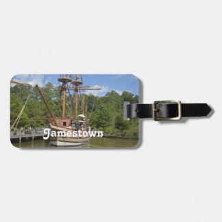 Jamestown Travel Bag Tag