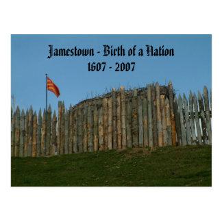 Jamestown - nacimiento de una nación, 1607 - 2007 postales