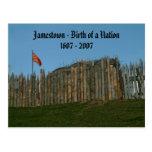 Jamestown - nacimiento de una nación, 1607 - 2007 tarjetas postales