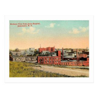 Jamestown, New York, Bird's Eye View 1910 Vintage Postcard