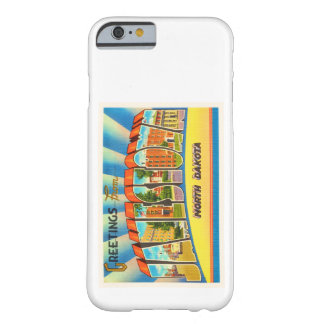 Jamestown North Dakota ND Vintage Travel Souvenir Barely There iPhone 6 Case