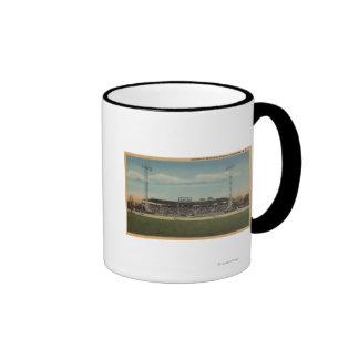 Jamestown, NY - estadio de béisbol municipal Taza De Café