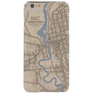 Jamestown NY Map Barely There iPhone 6 Plus Case