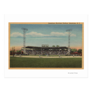 Jamestown, NY - Municipal Baseball Stadium Post Cards