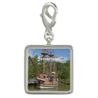 Jamestown Photo Charm