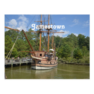 Jamestown Postcard