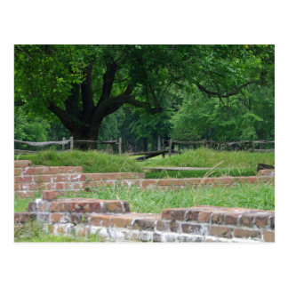 Jamestown Ruins Postcard