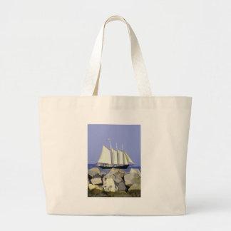 Jamestown Sailboat Tote Bag