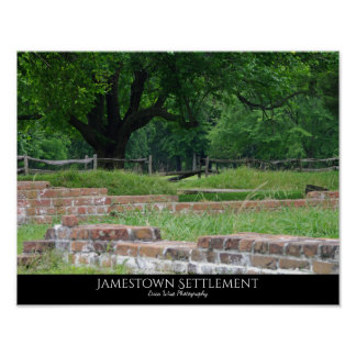 Jamestown Settlement Poster