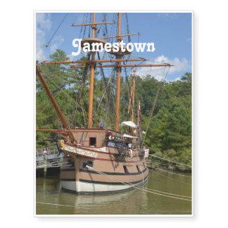 Jamestown Temporary Tattoos