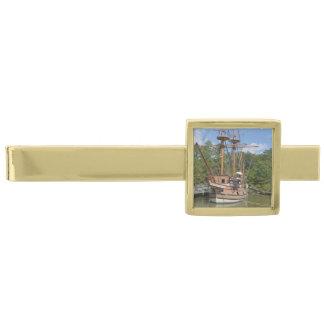 Jamestown Gold Finish Tie Bar