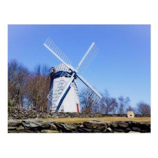 Jamestown windmill built in 1789 postcard