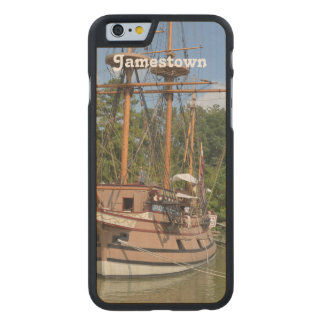 Jamestown Carved® Maple iPhone 6 Slim Case