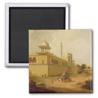 Jami Masjid, Delhi, 1811 (aceite en lona) Imanes